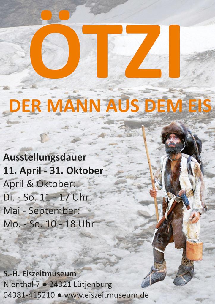 Plakat Sonderausstellung Ötzi